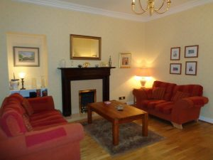 Lounge at Hamilton House Dumfries guest house bed and breakfast accommodation