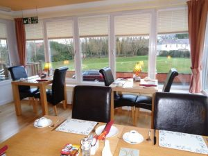 Breakfast Room at Hamilton House Dumfries