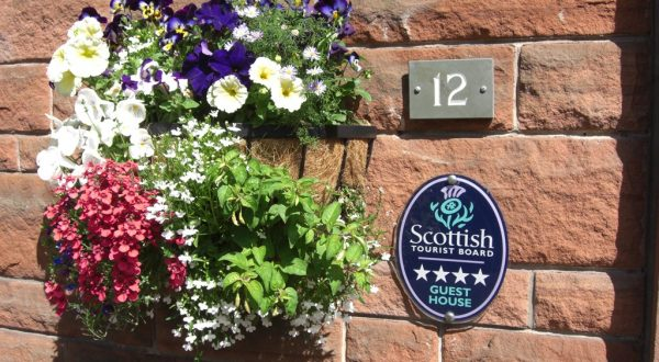 Hamilton House Guest House Bed and Breakfast Accommodation Dumfries
